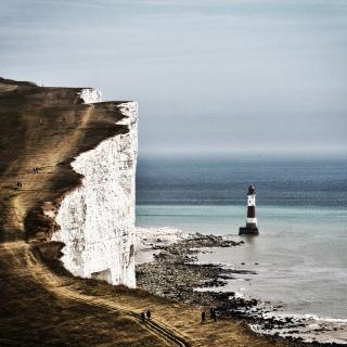 Beachy Head Klippenbetrachtung 3
