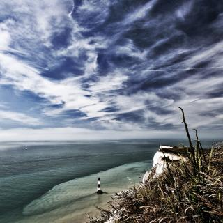 Beachy Head Klippenbetrachtung 4